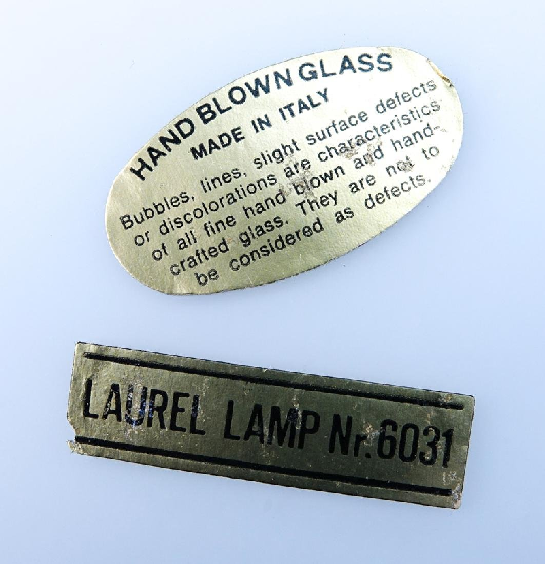 Laurel Lamp Co. Mid Century Modern Aluminium Mushroom - 3