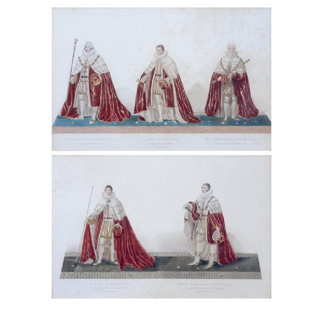 Two (2) Vintage Color Prints