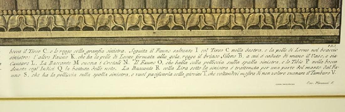 Two (2) Ornamental Frieze Engravings After Francesco - 10