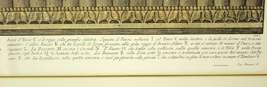 Two (2) Ornamental Frieze Engravings After Francesco - 10