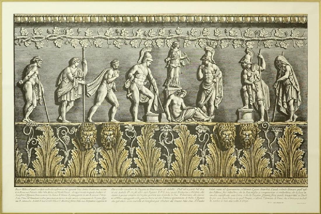 Two (2) Ornamental Frieze Engravings After Francesco - 3