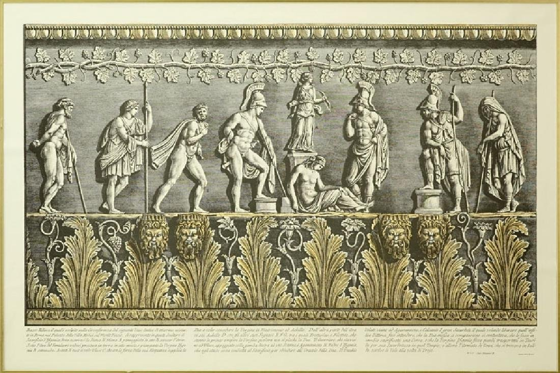 Two (2) Ornamental Frieze Engravings After Francesco - 3