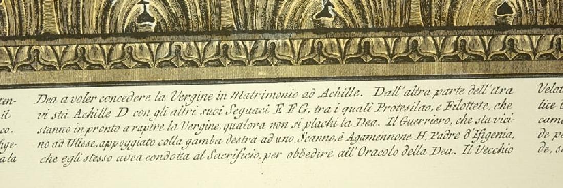 Two (2) Ornamental Frieze Engravings After Francesco - 5