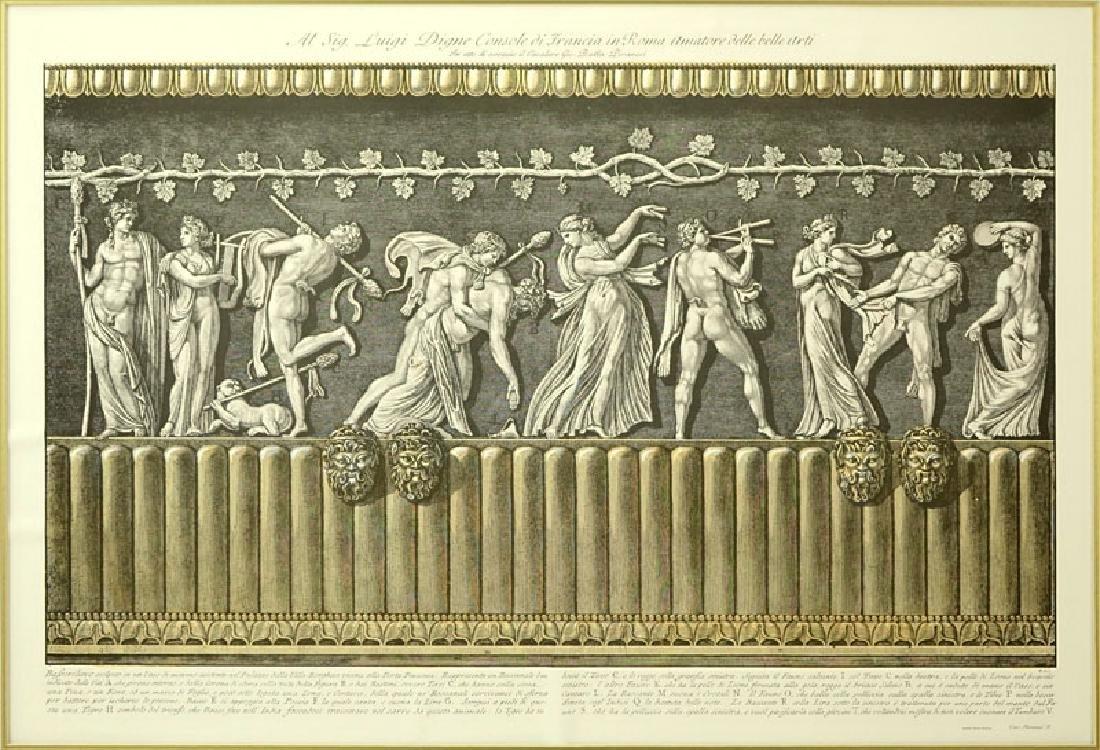 Two (2) Ornamental Frieze Engravings After Francesco - 7