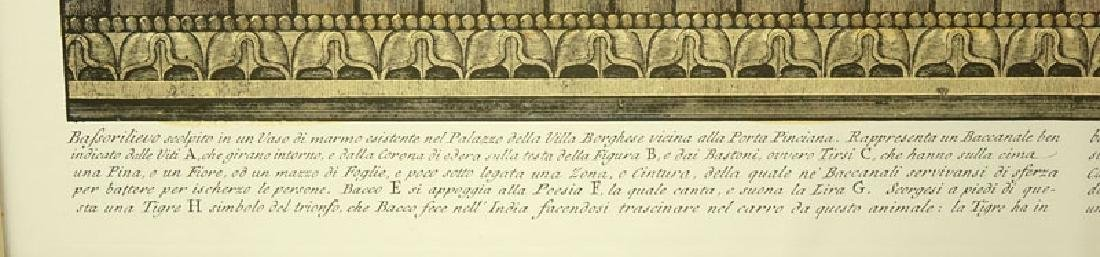 Two (2) Ornamental Frieze Engravings After Francesco - 8