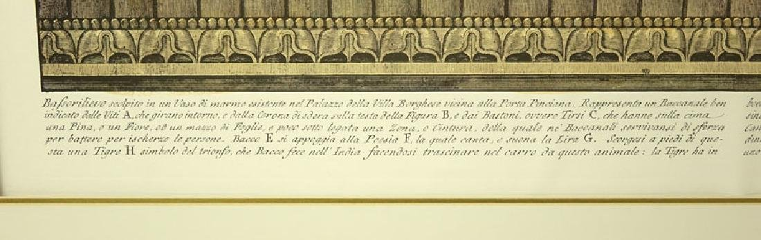 Two (2) Ornamental Frieze Engravings After Francesco - 9