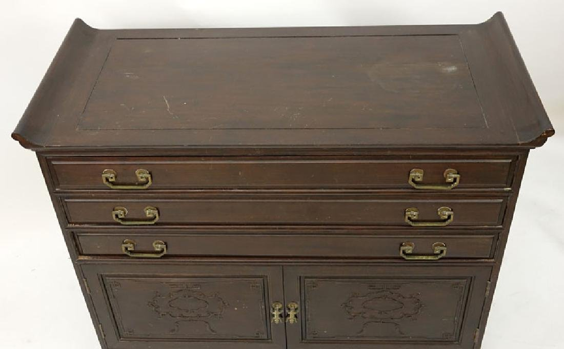 Mid Century Chinese Silverware Chest of Drawers with - 3