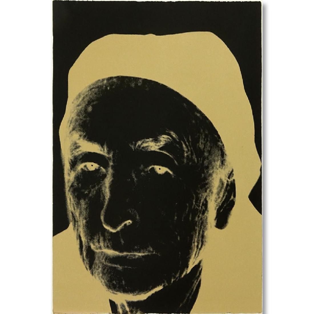 Andy Warhol, American (1928-1987) 1979 Screenprint