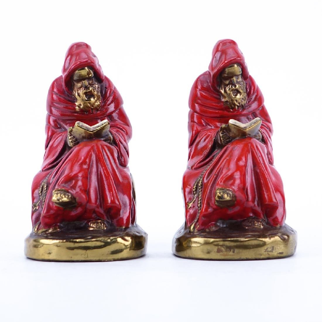 Pair of Marion Bronze Co. Gilt Bronze-Clad and