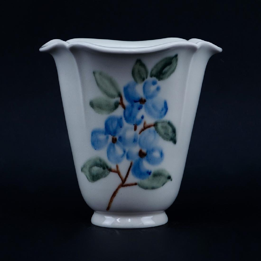Rookwood Glaze Porcelain Footed Vase #6314. Signed.