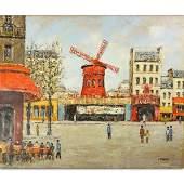 Louis Peyrat, French (1911 - 2001) Oil on Canvas