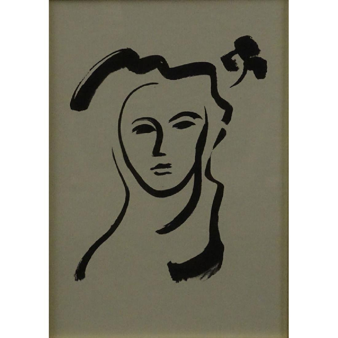 After: Henri Matisse, French (1869-1954) Lithograph