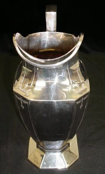 623: Wrought-Right Silver Plate Handled Pitcher Circa 1 - 9