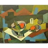 Kenneth Stubbs, American (1907 - 1967) Oil on Canvas,