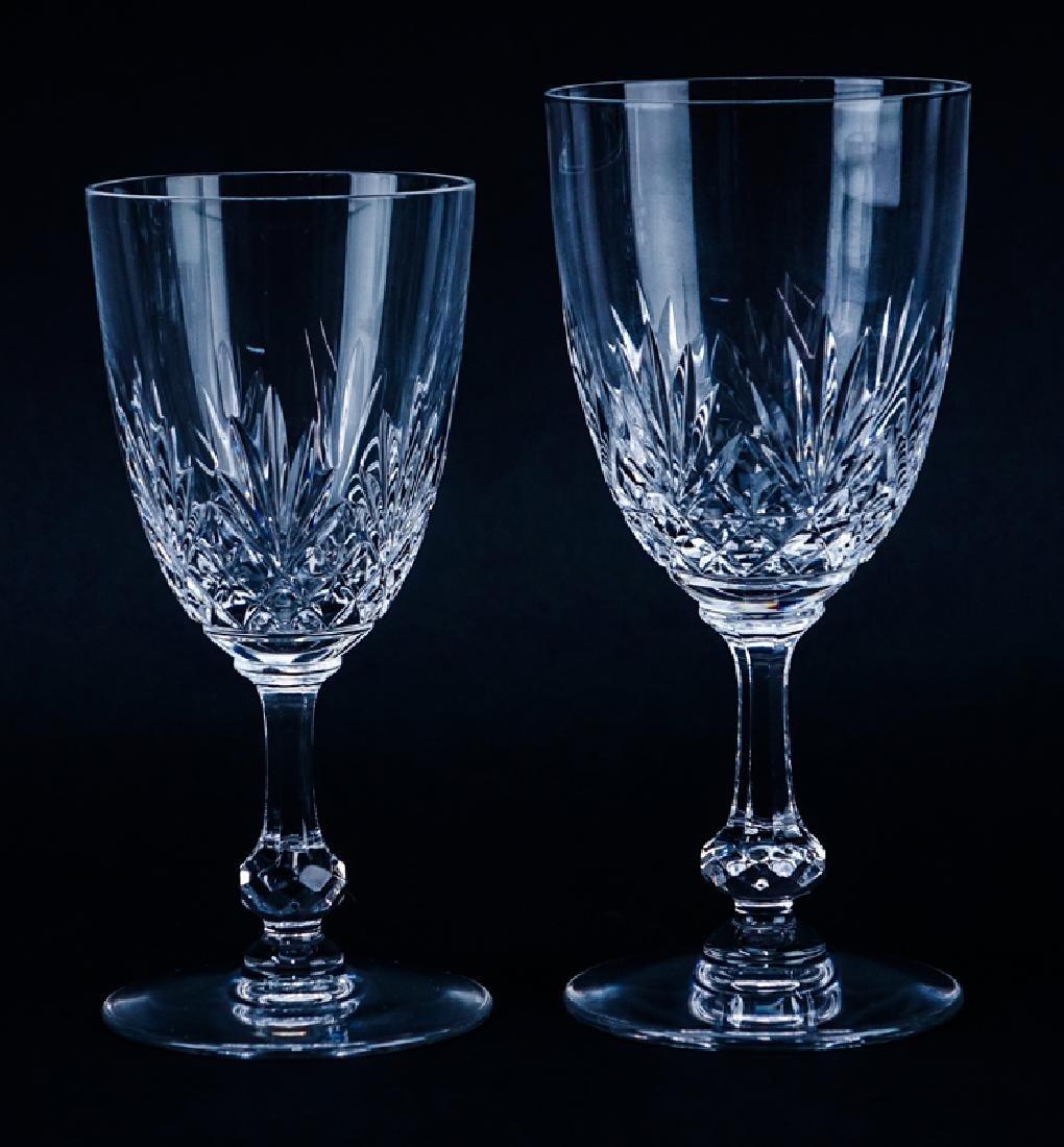 """Seven (7) Saint Louis Cristal Massenet Goblets 6-7/8"""" - 2"""