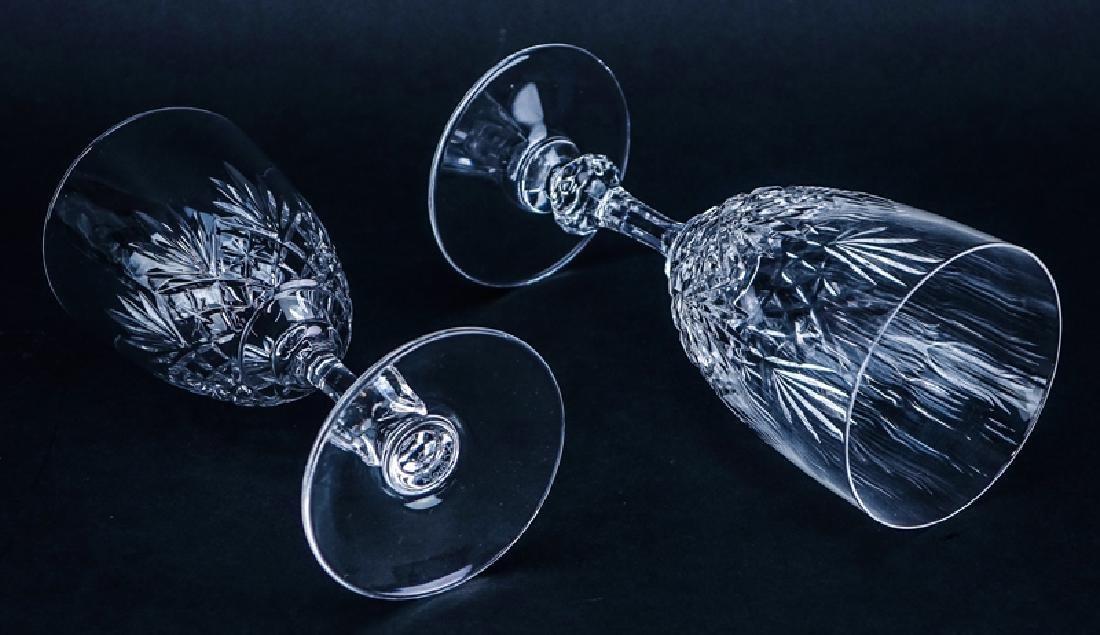 """Seven (7) Saint Louis Cristal Massenet Goblets 6-7/8"""" - 3"""