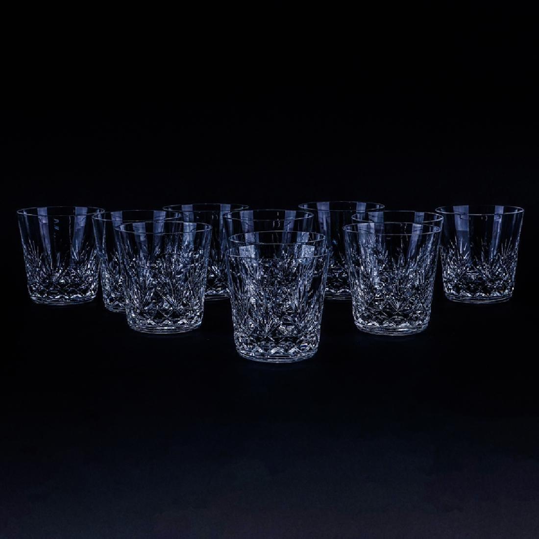 Eleven (11) Saint Louis Cristal Massenet Whiskey