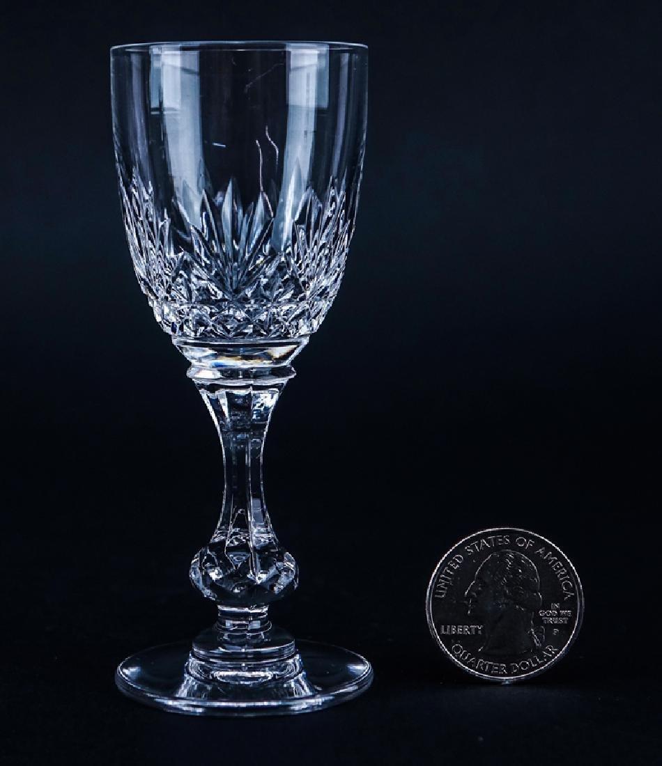 Ten (10) Saint Louis Cristal Massenet Cordial Glasses. - 2