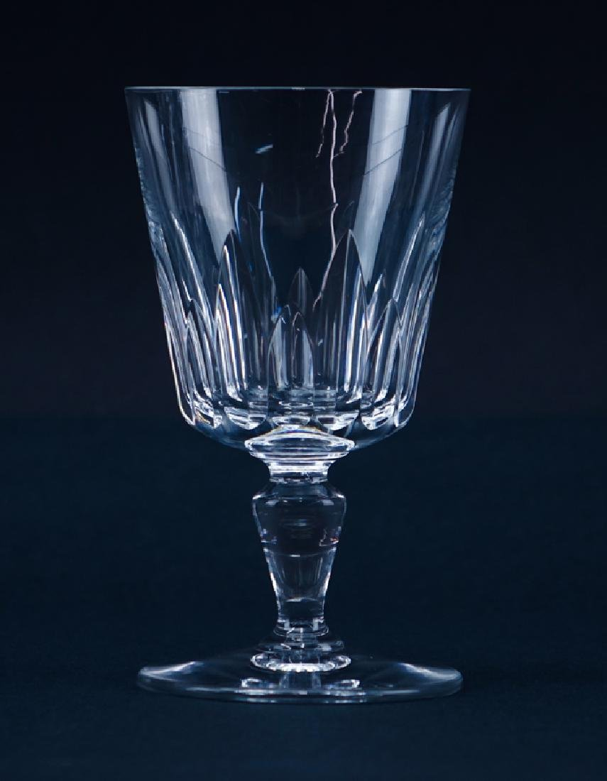 "Twelve (12) Baccarat ""Biarritz"" Crystal Water Goblets. - 2"