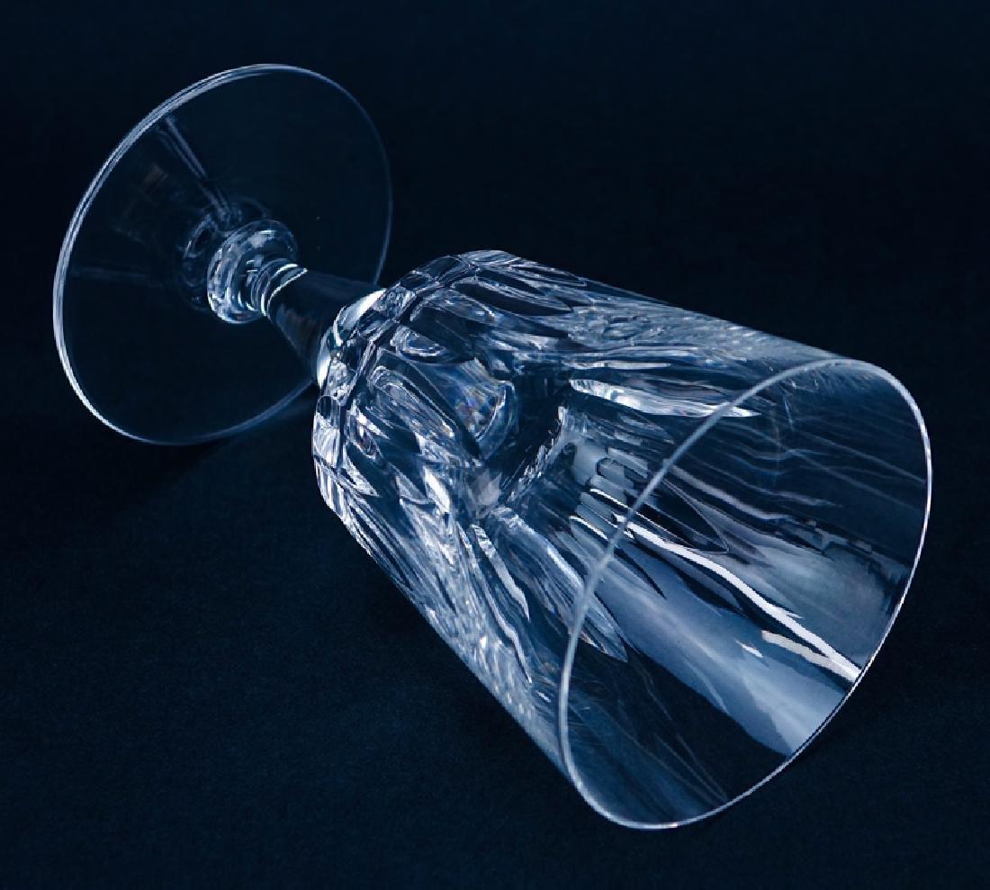 "Twelve (12) Baccarat ""Biarritz"" Crystal Water Goblets. - 3"