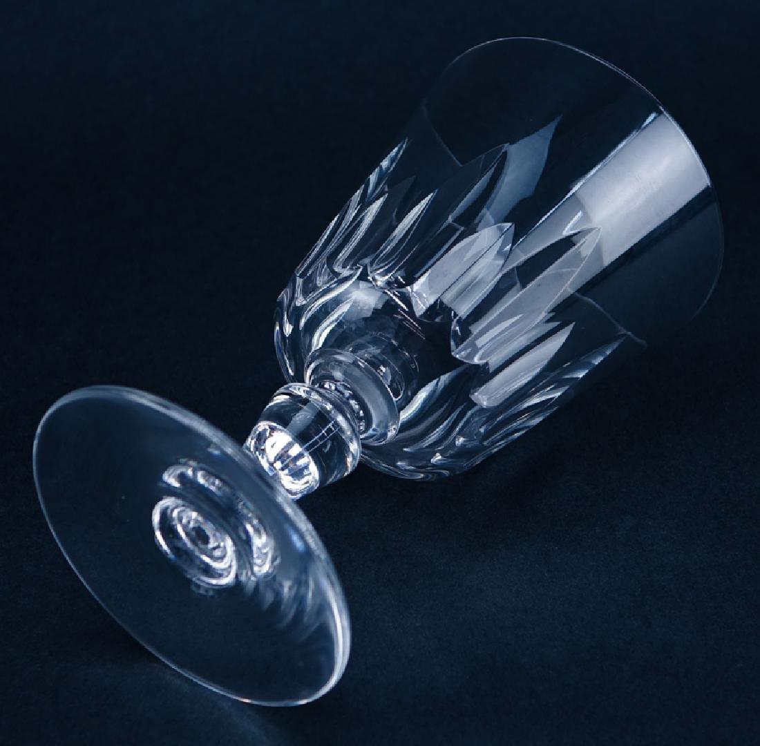 "Twelve (12) Baccarat ""Biarritz"" Crystal Water Goblets. - 4"