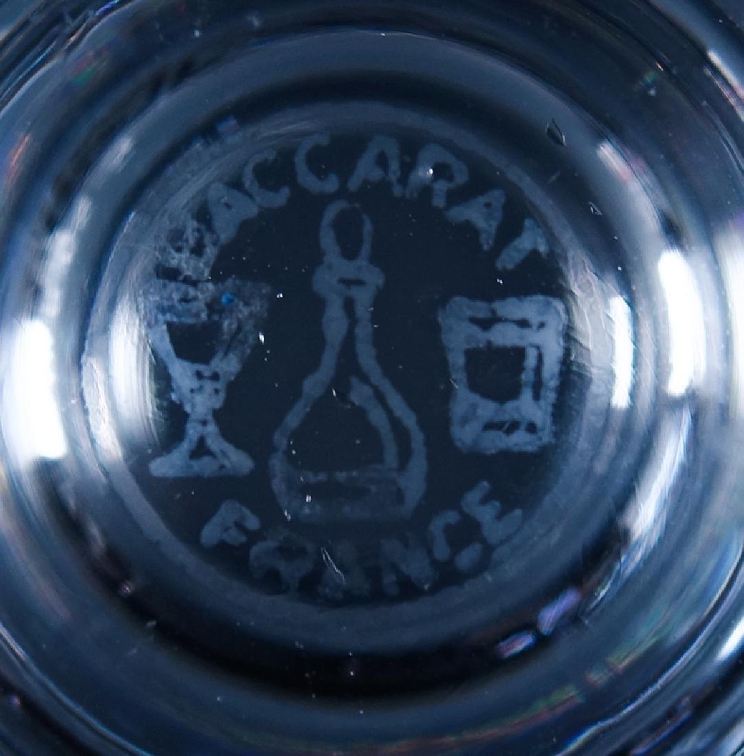 "Twelve (12) Baccarat ""Biarritz"" Crystal Champagne/Tall - 5"