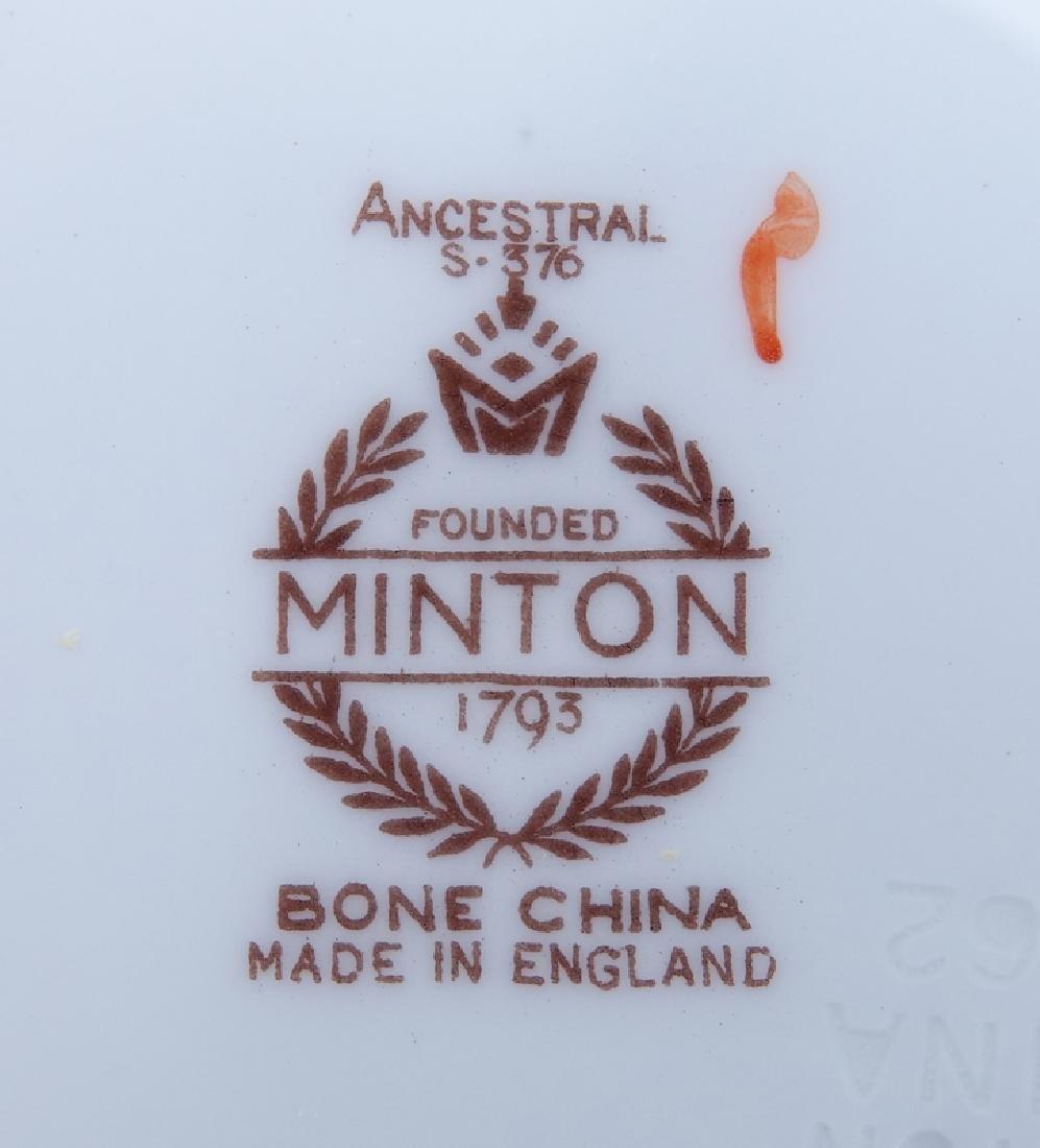 Sixty Nine (69) Piece Minton Ancestral Porcelain - 3