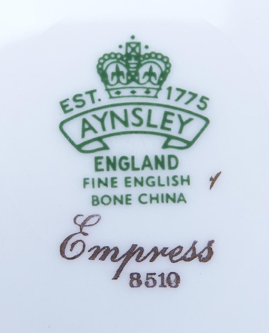"Fifty One (51) Piece Aynsley ""Empress, 8510"" Porcelain - 3"