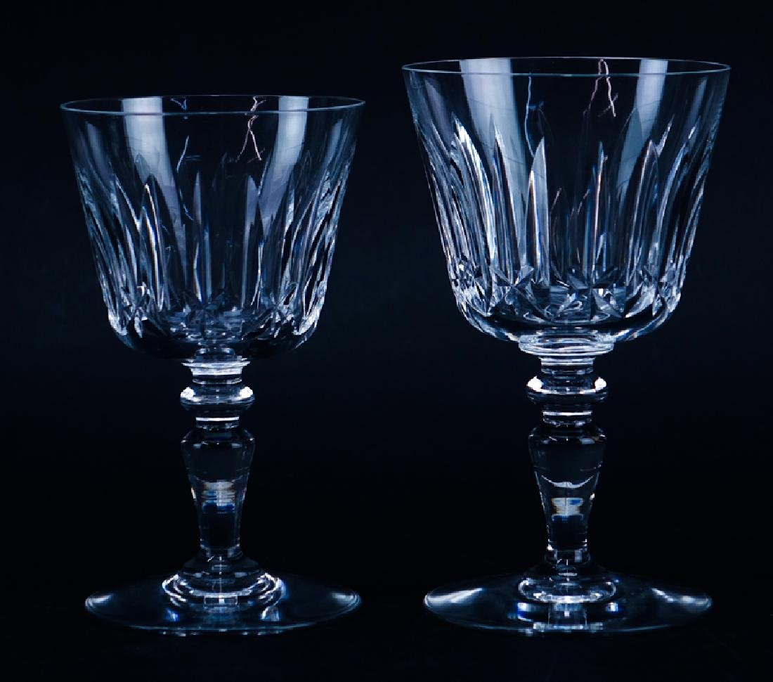 Set of Eleven (11) Baccarat  Crystal Stems. Includes: 6 - 2