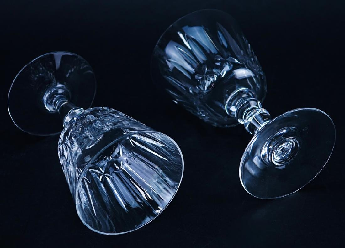 Set of Eleven (11) Baccarat  Crystal Stems. Includes: 6 - 3