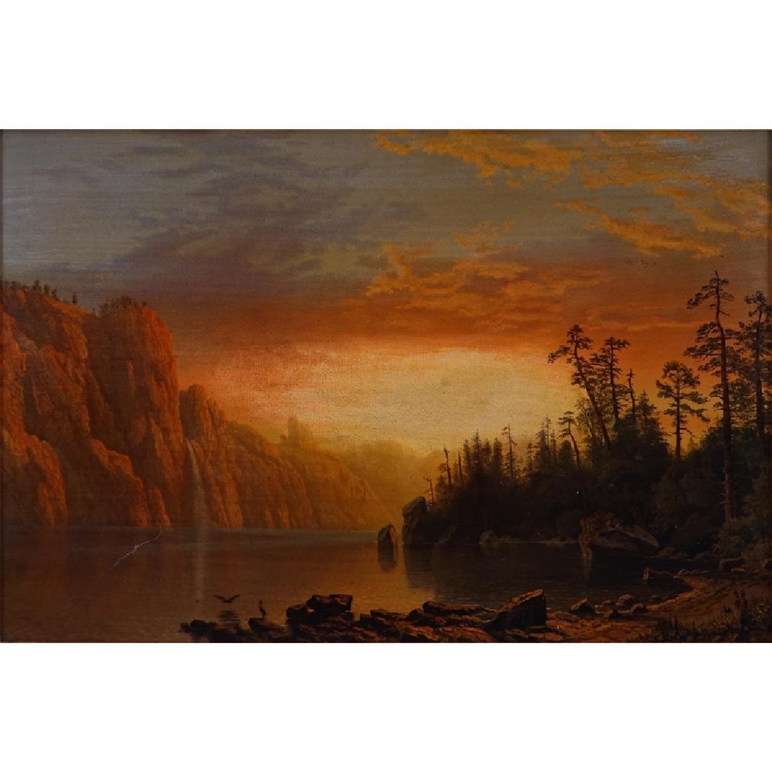 After; Albert Bierstadt, German (1830 - 1902)