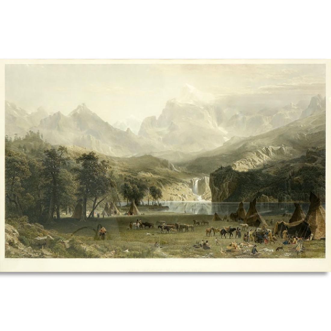 After: Albert Bierstadt, German (1830 - 1902) Hand