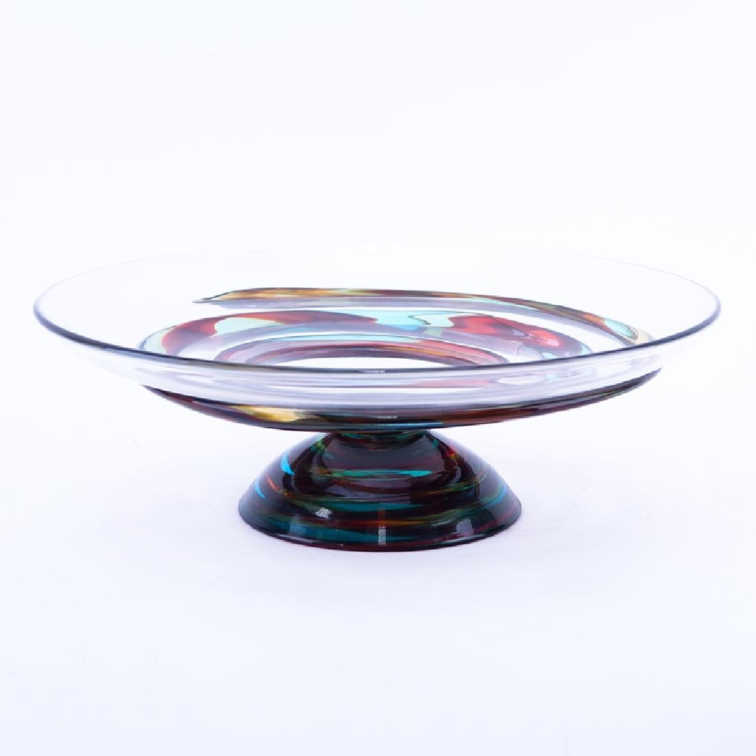 Mid Century Murano Italian Art Glass Centerpiece.