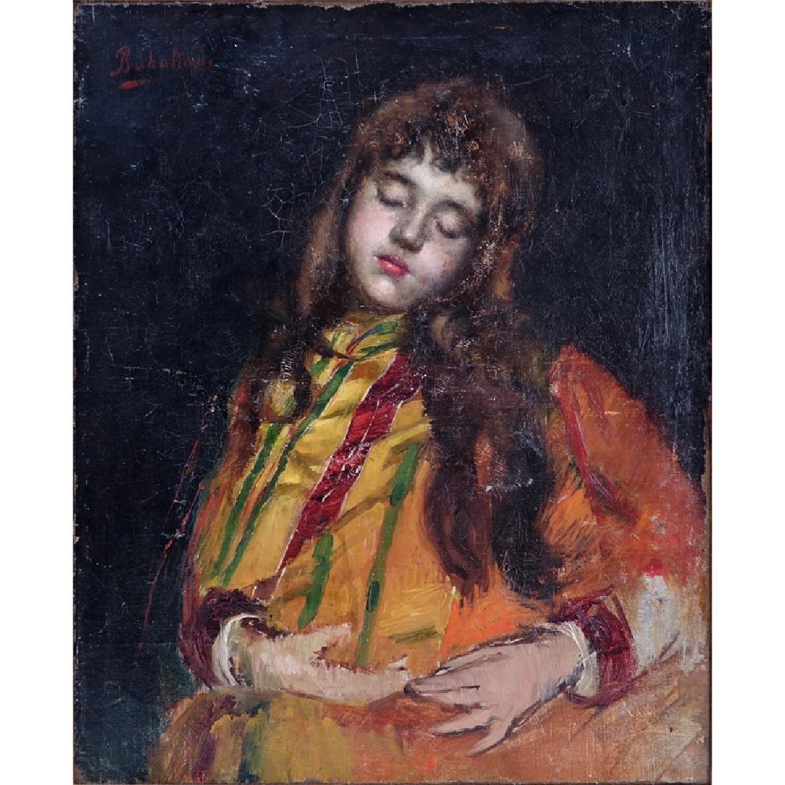 Aram Bakalian, Armenian (1874-1959) Oil on Canvas,