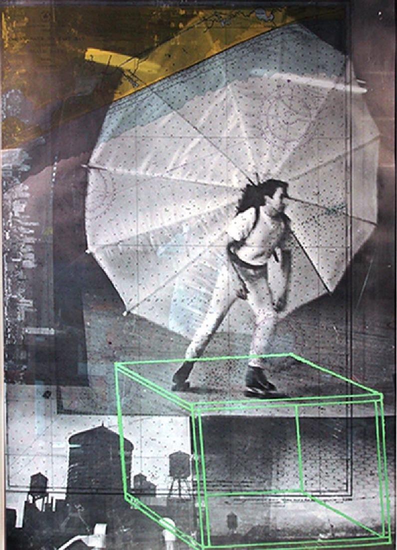 Robert Rauschenberg, American (1925-2008) 1968 Tryptic - 2