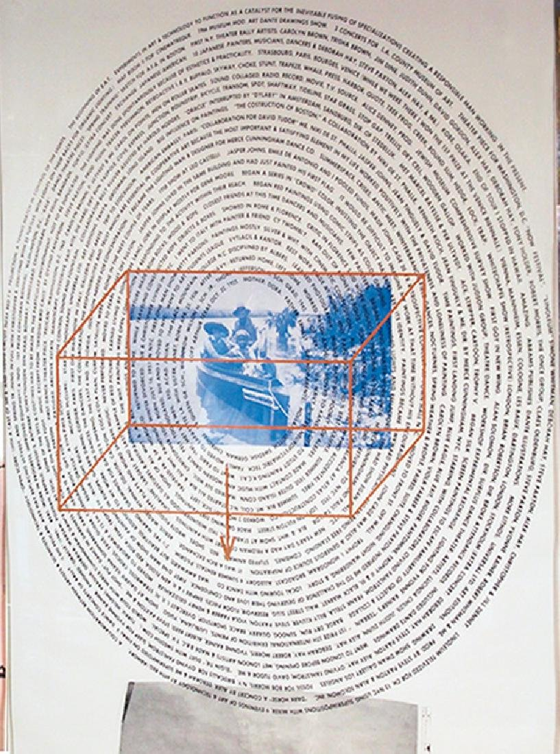 Robert Rauschenberg, American (1925-2008) 1968 Tryptic - 3
