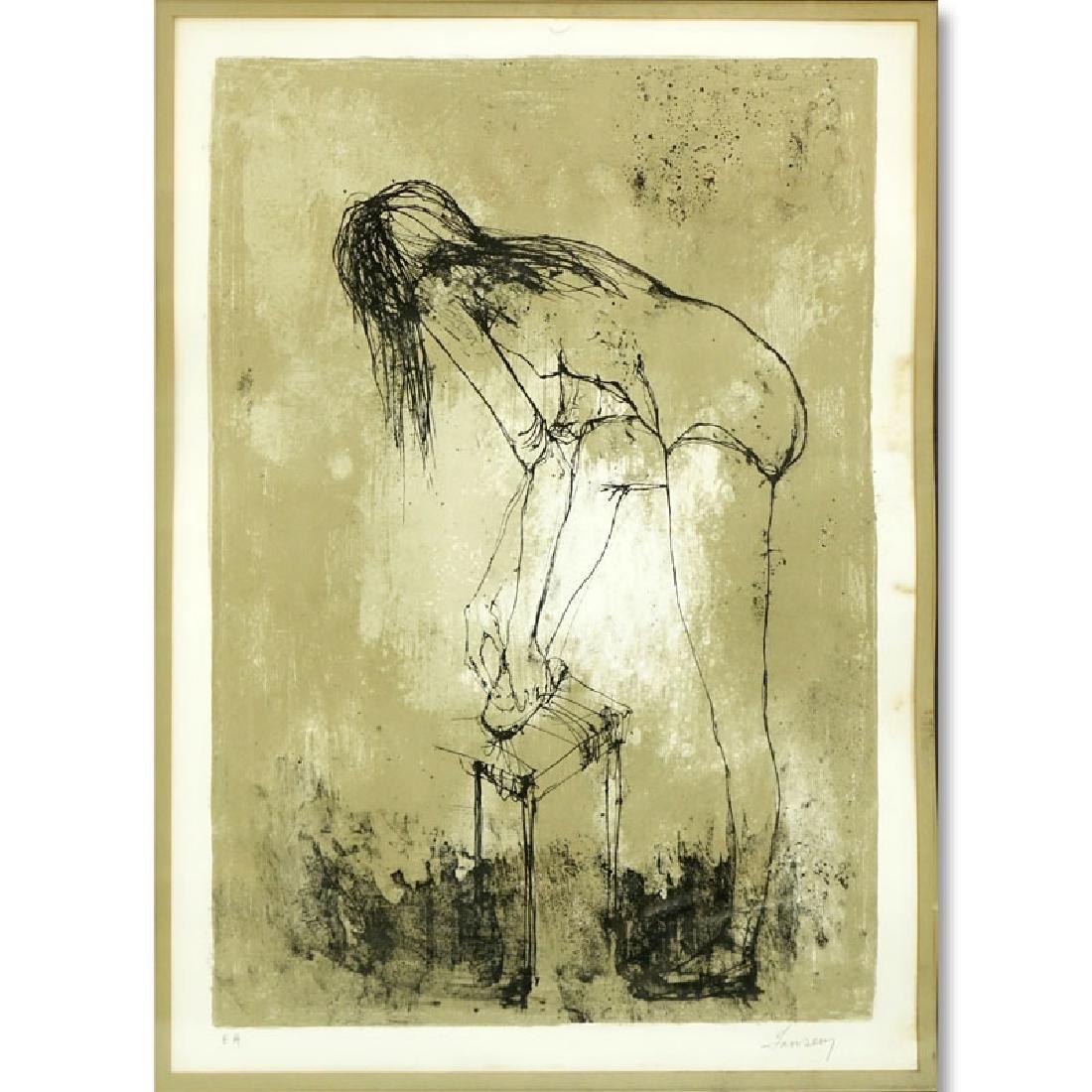 Jean Jansem, French  (1920 - 2013) Lithograph, Ballet