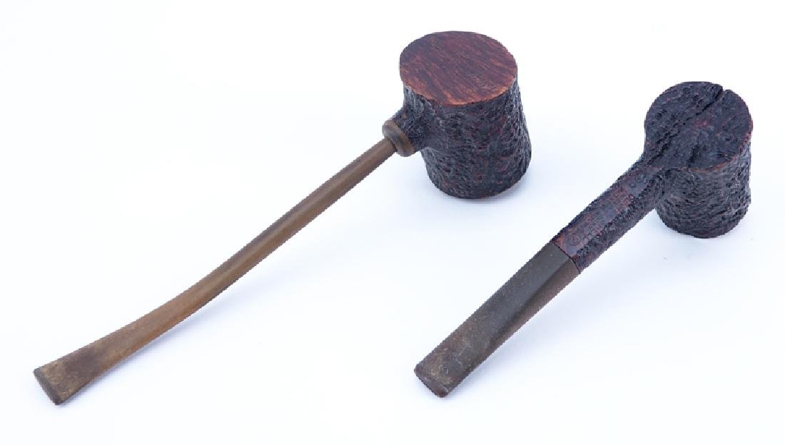 Grouping of Two (2) Dunhill Shell Briar Pipes. Each - 2