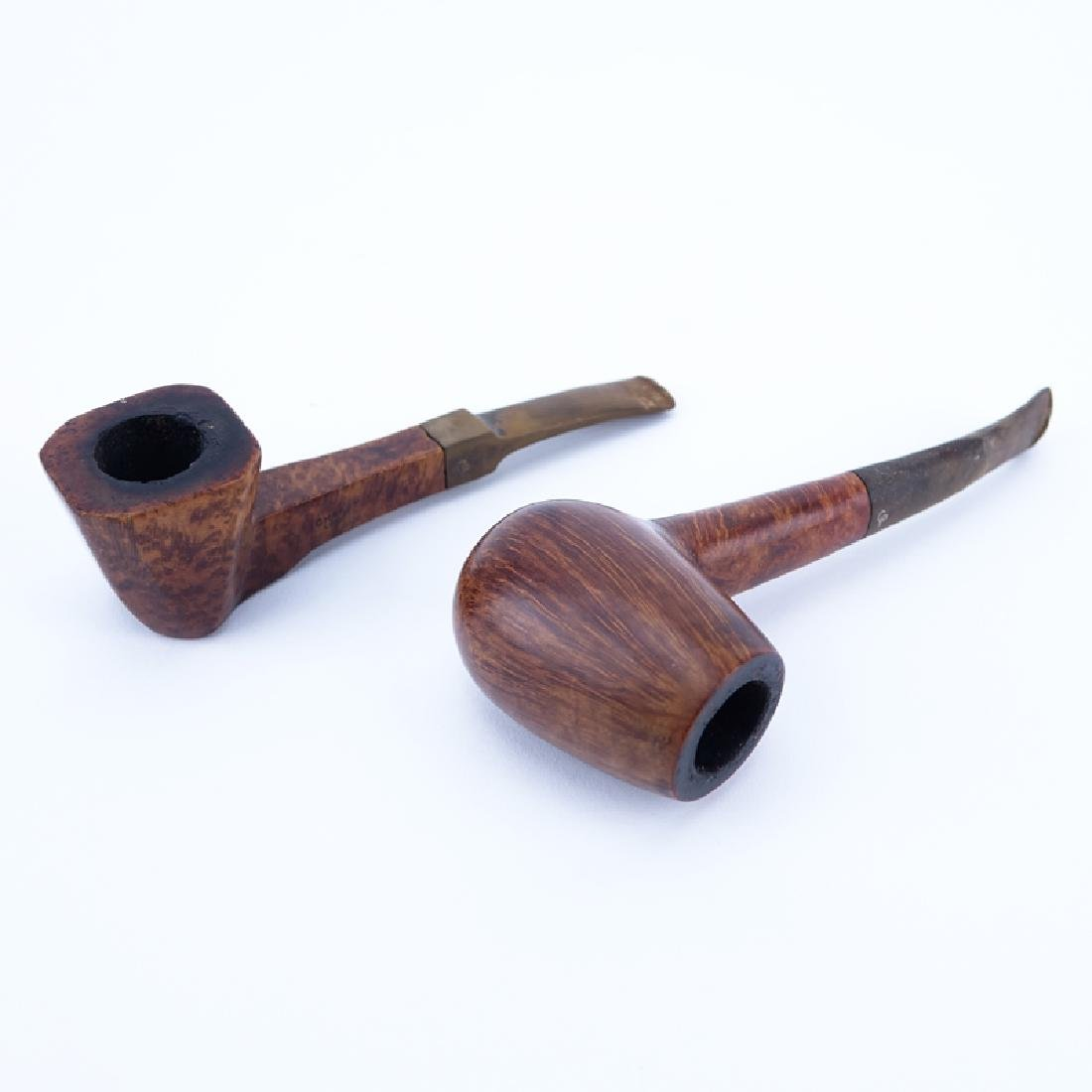 Grouping of Two (2) Charatan's Make High Quality Wood