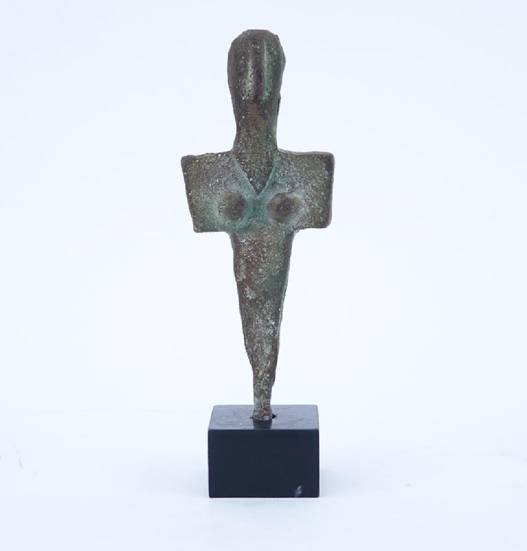 Ancient Bronze Figure.