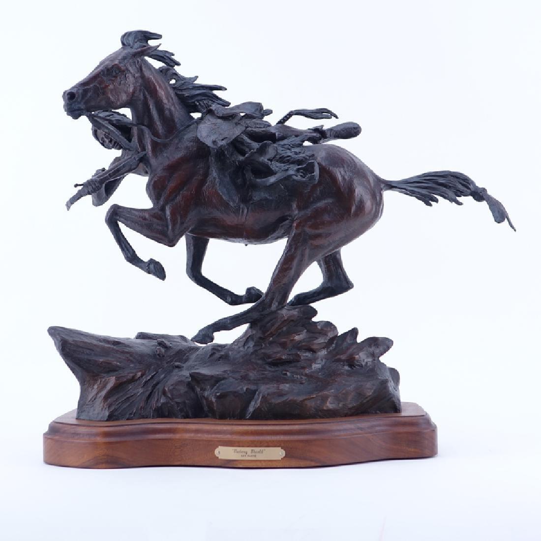 Ken Payne, American  (1938 - 2012) Bronze Sculpture
