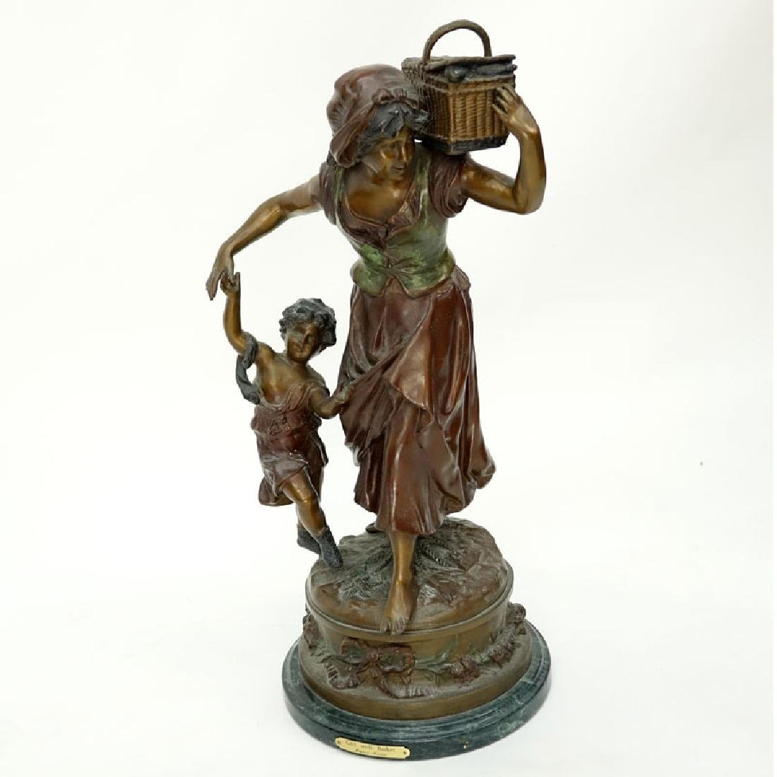 After: Auguste Moreau, French (1834 - 1917) Patinated