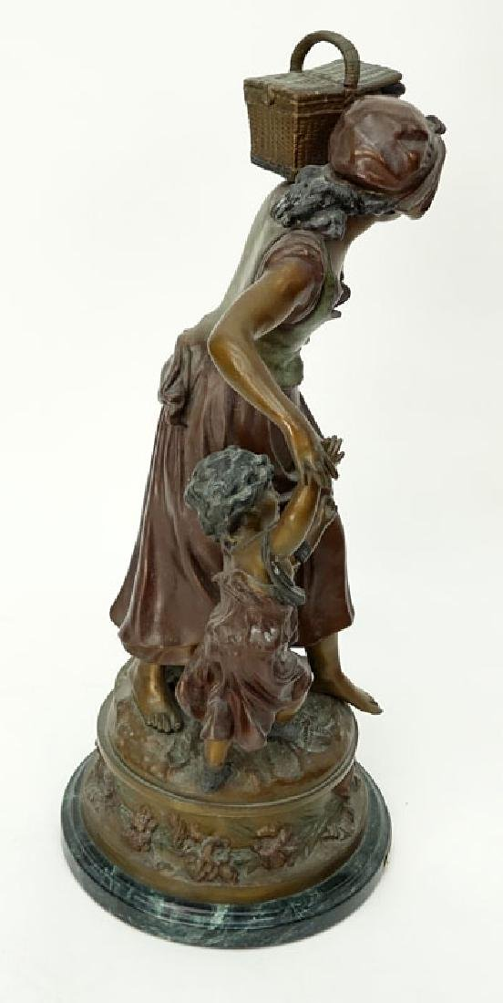 After: Auguste Moreau, French (1834 - 1917) Patinated - 5