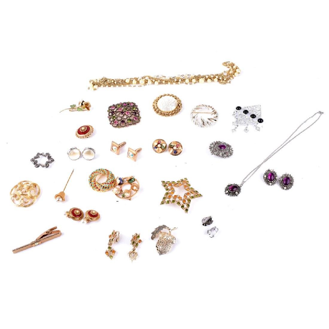 Group of Assorted Sarah Coventry Costume Jewelry.