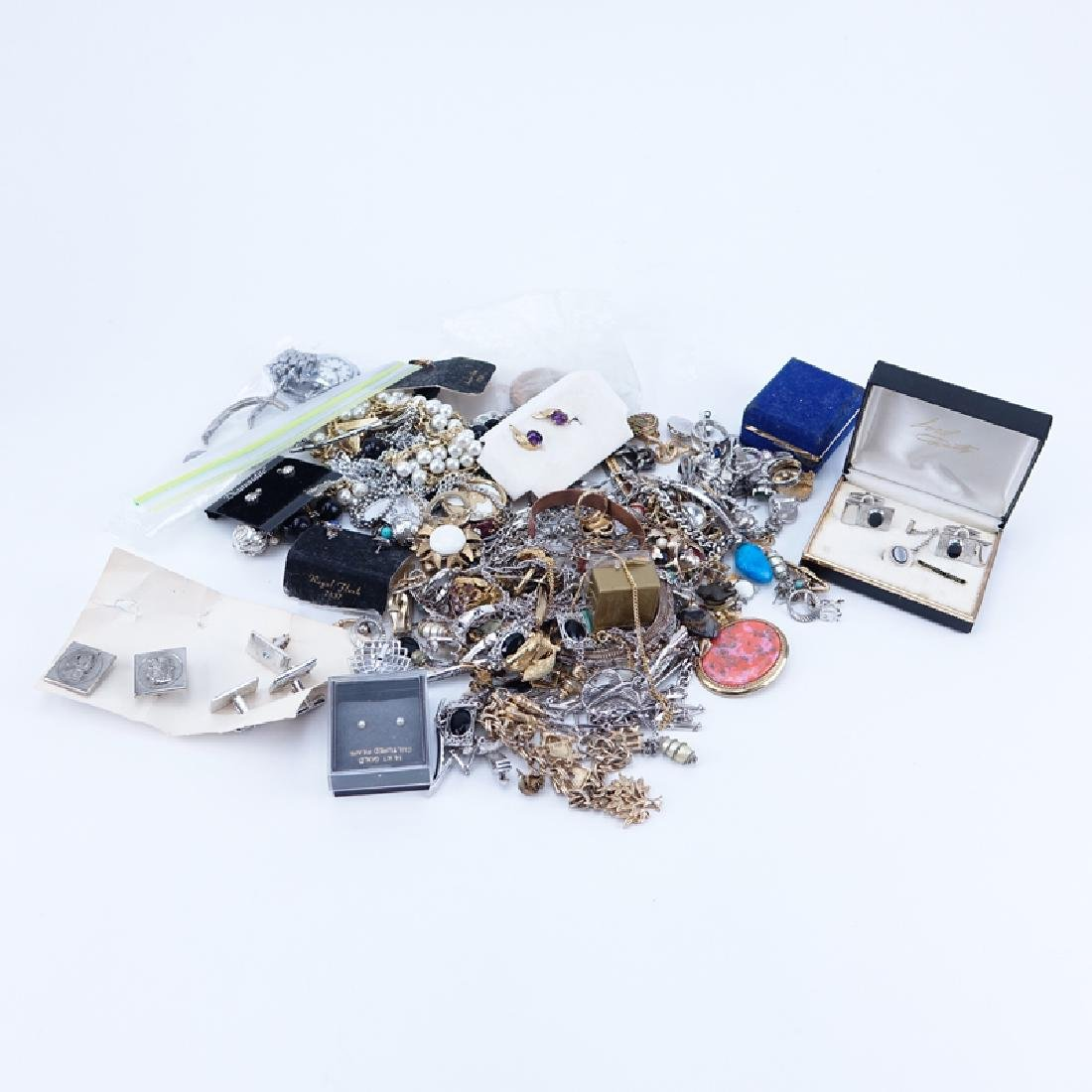 Group of Assorted Costume Jewelry along with Odds and