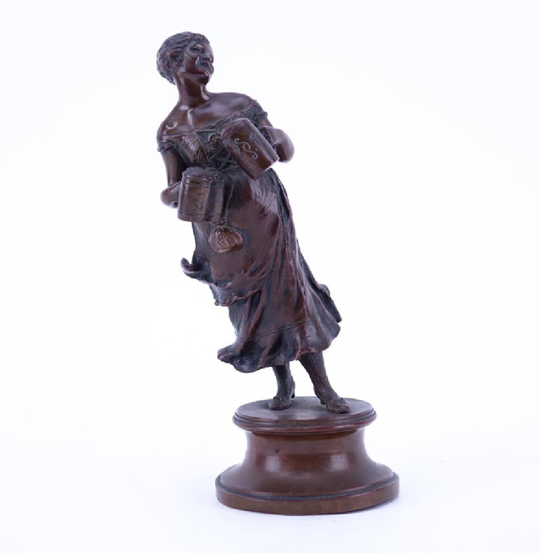 Franz Iffland, German  (1862 - 1935) Bronze Sculpture,