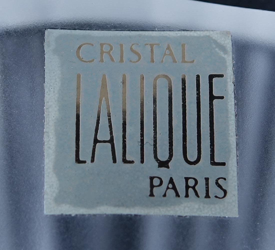 Two (2) Lalique Frosted Crystal Bird - 4
