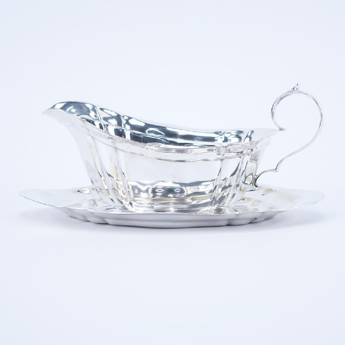 Reed and Barton Dublin Sterling Silver Gravy Boat with