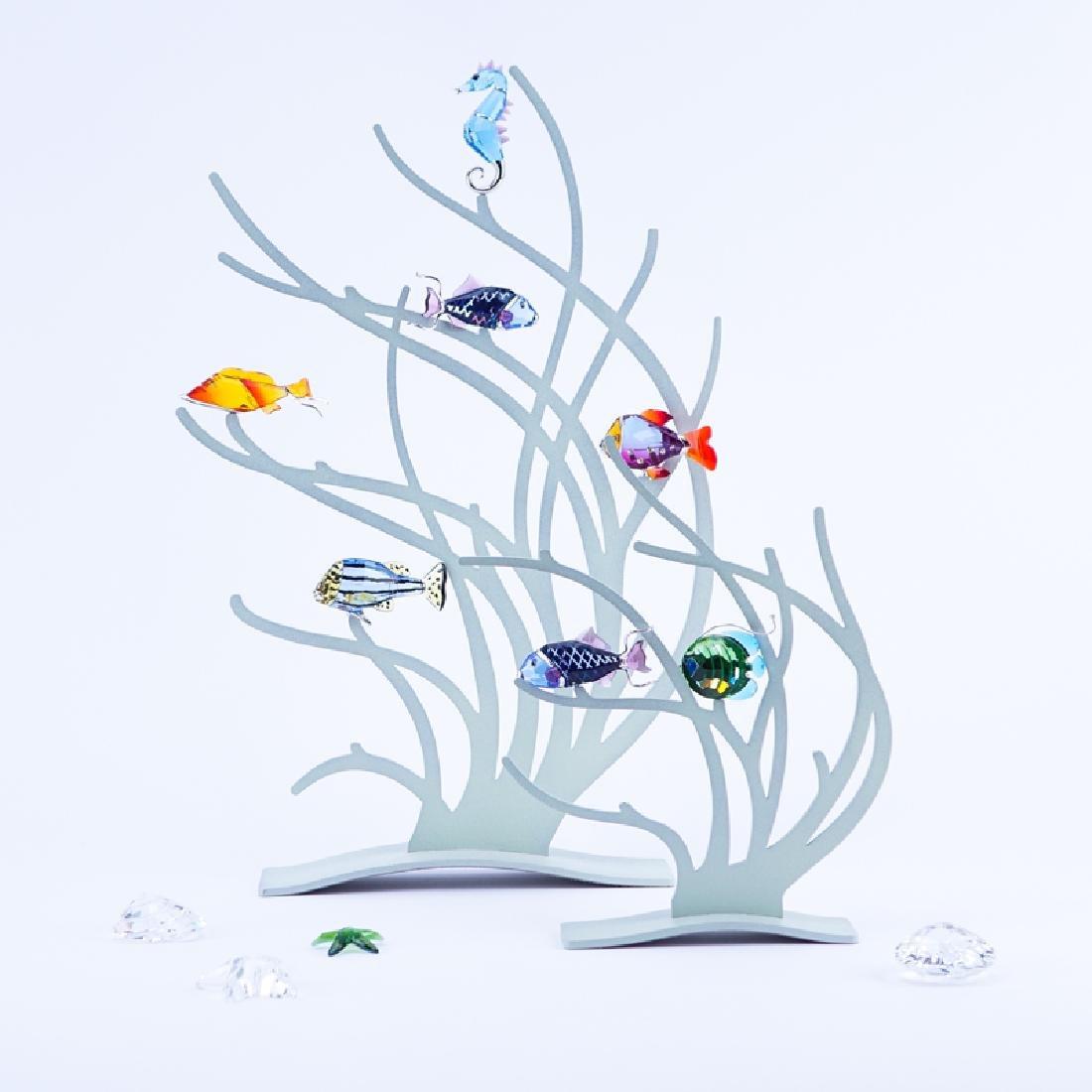 Swarovski Multi Piece Reef Vignette. Includes 2 painted