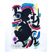 Joan Miro Spanish 18931983 Color lithograph